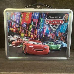 Disney / Pixar Cars 2 Tin lunch box